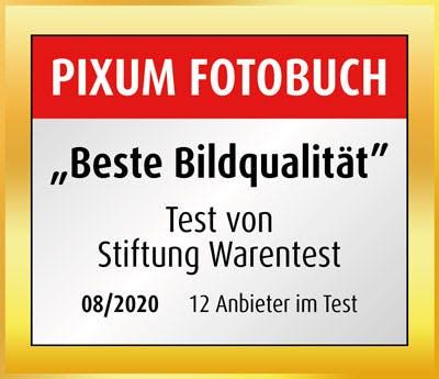 """Pixum Fotobuch: """"Beste Bildqualität"""" laut Stiftung Warentest"""